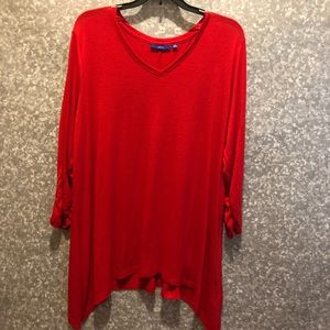 Apt 9 red tunic